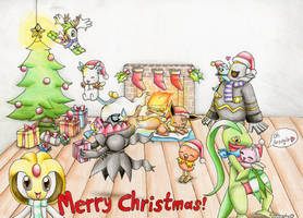 Merry Christmas .. by Evomanaphy