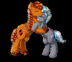 :com: a little hug by Evomanaphy
