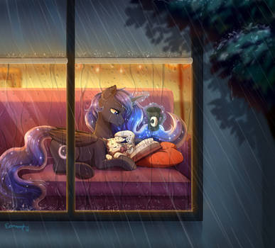 [patreon reward] Rainy nights