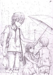 [sketch] Rain