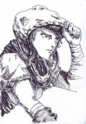Dyaksanala - with hood