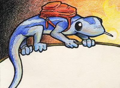 Smoking Salamander