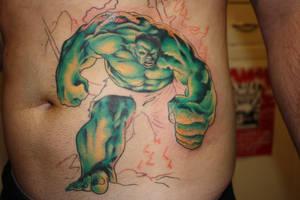 sir hulk by TATT00HQ