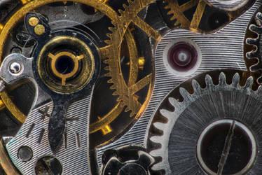 Inside wrist watch mechanism #2