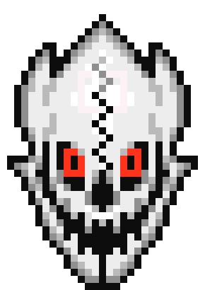 how to draw gaster blaster