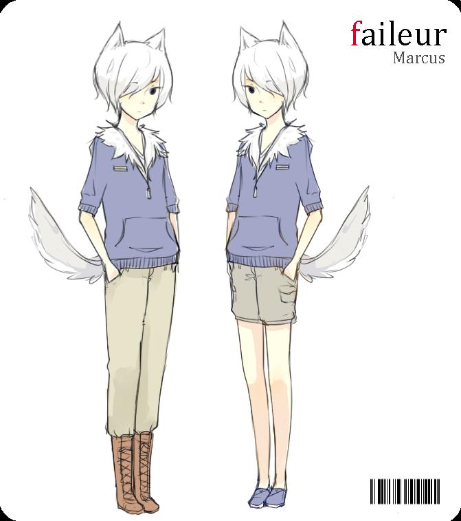 Faileur: Marcus by AmberTheSatyr