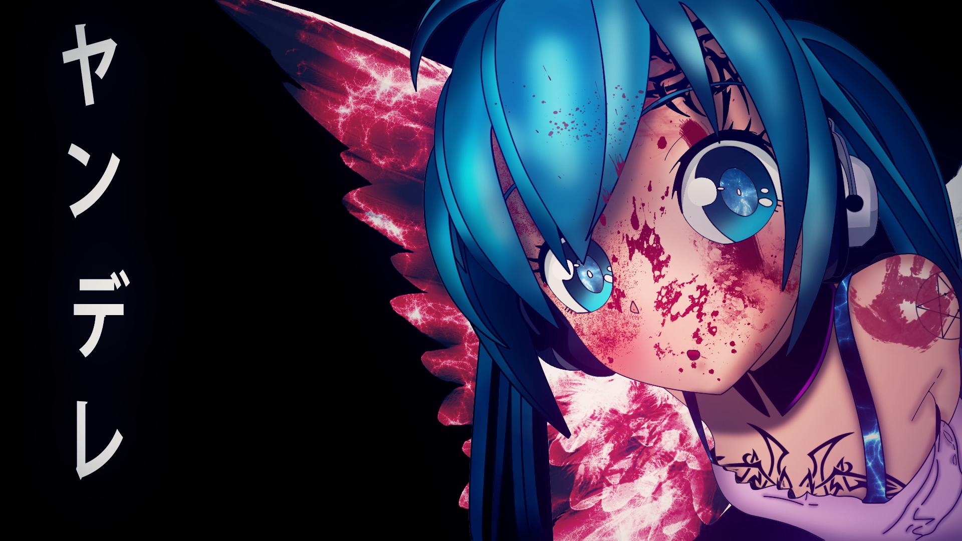 Miku Hatsune Yandere By DrawingAnimes4Fun