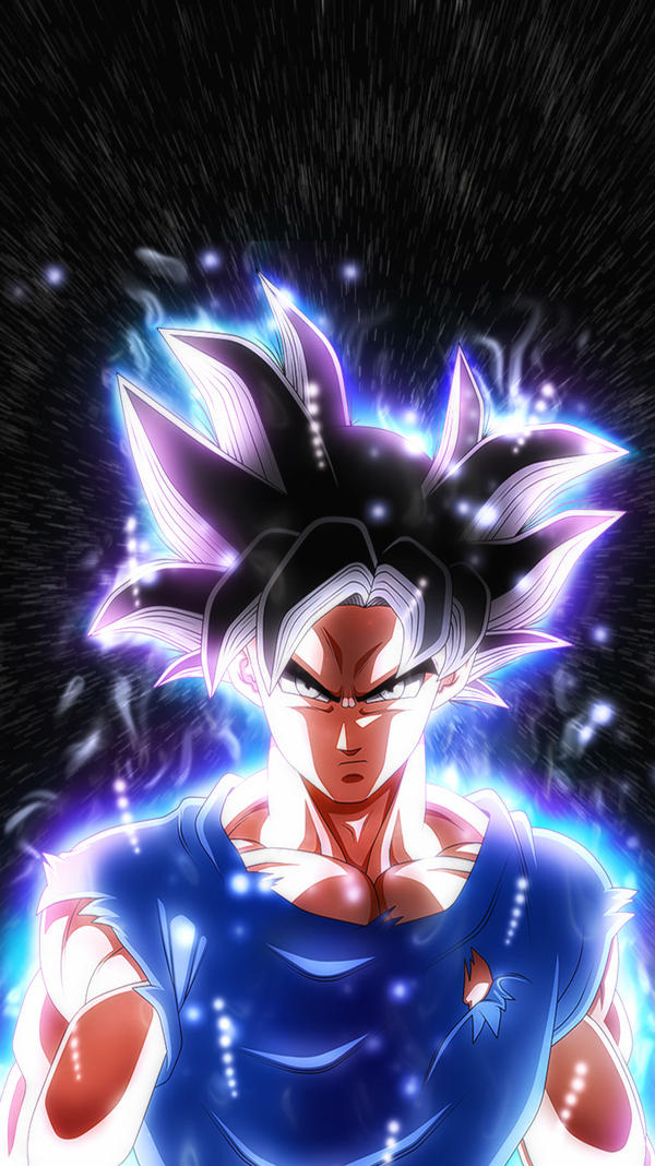 Son Goku Ultra Instinct Iphone 6 And 7 Wallpaper By
