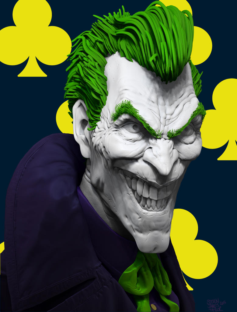 still haven't hit print on this Joker by stevenjamestaylor