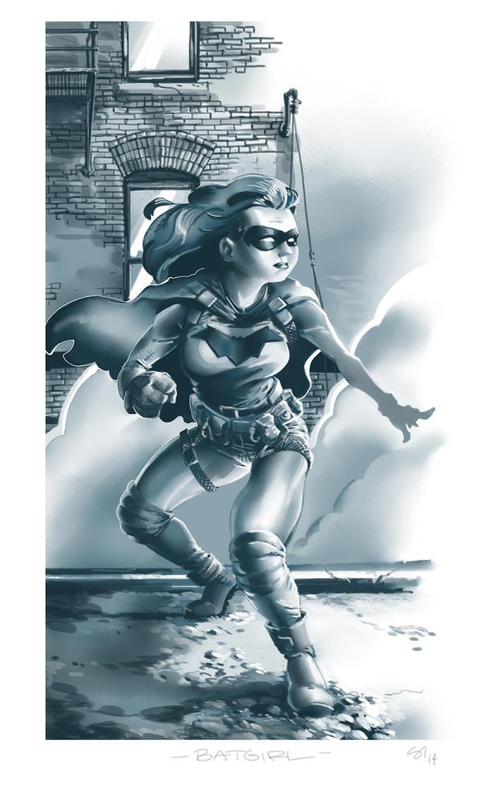 batgirl by stevenjamestaylor