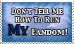 Stamp: It's My Fandom by Fishlover