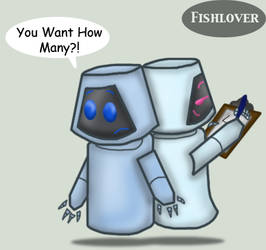 How Many? by Fishlover