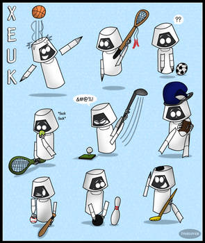 Xeuk Being Cute 3: Sports