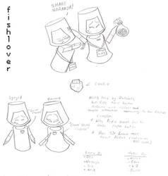 Sketch: Cookies by Fishlover