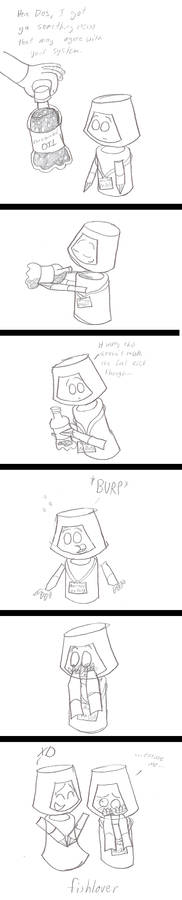 Sketch Comic: It's Carbonated