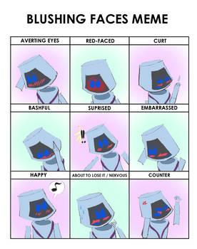 Blushing Faces Meme: Dos