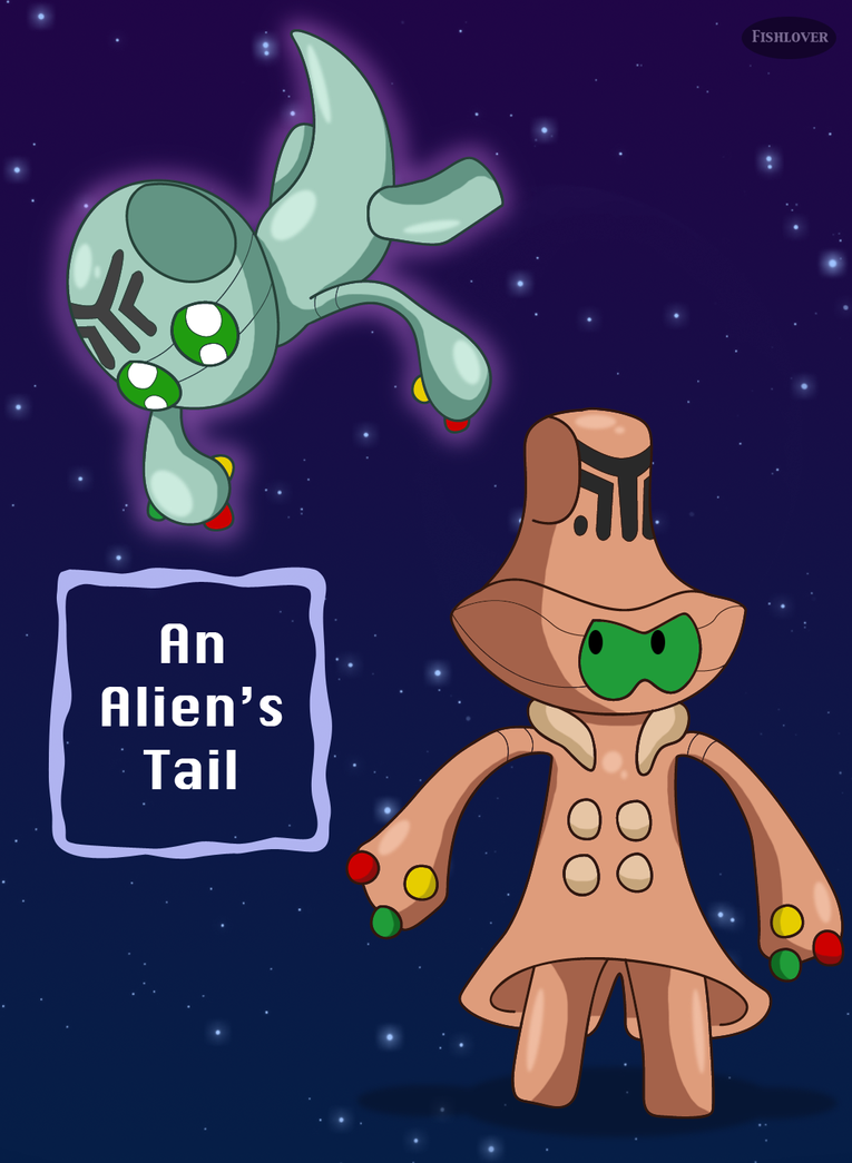 An Alien's Tail Cover by Fishlover