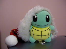 Christmas Squirtle PlushPlush by Fishlover