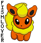 Flareon Pokedoll Pixel by Fishlover