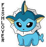 Vaporeon Pokedoll Pixel by Fishlover