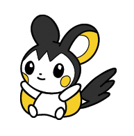 Emolga Pokedoll by Fishlover