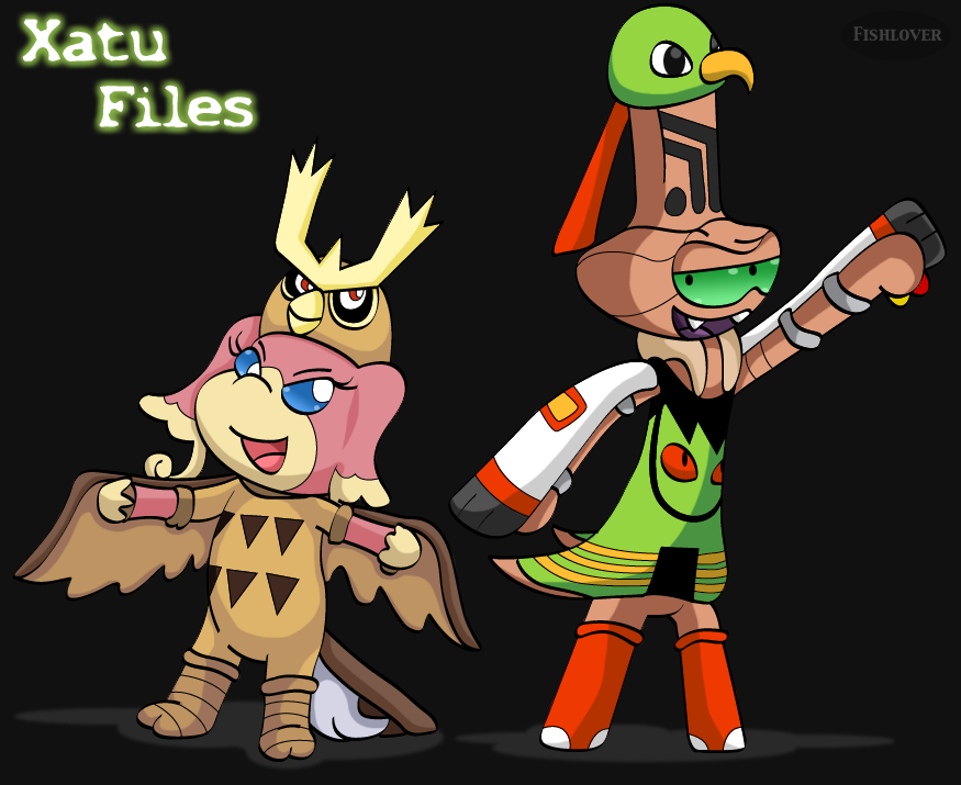 Xatu Files by Fishlover