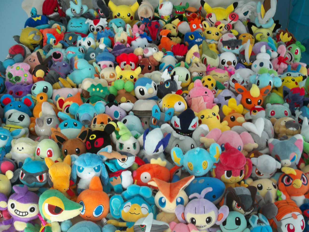 Sea Of Pokedolls by Fishlover