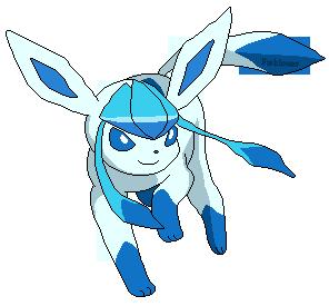 Glaceon shiny pixel by fishlover on deviantart - Givrali pokemon ...