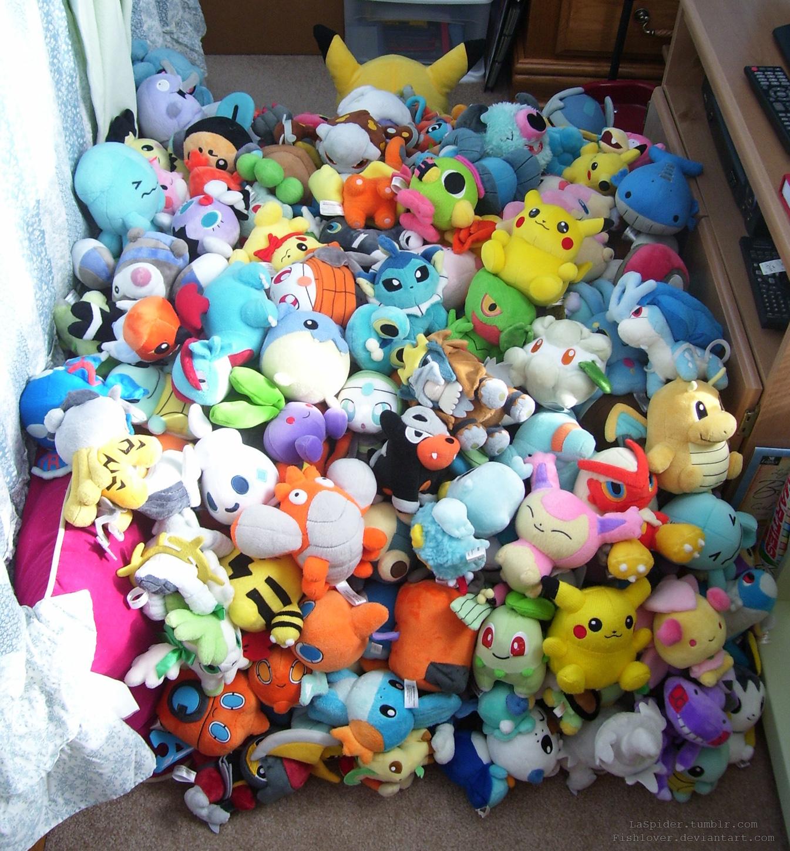 Huge Pokedoll Pile by Fishlover