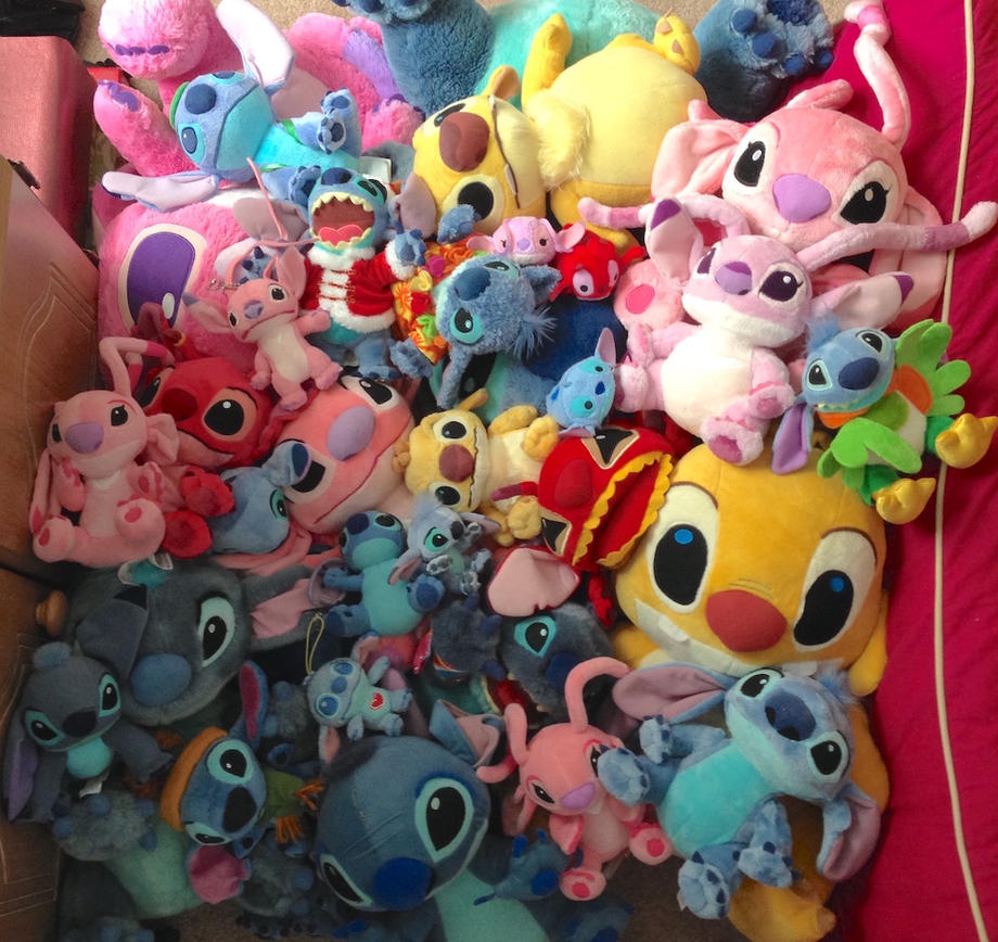 Lilo and Stitch Plush Pile by Fishlover on DeviantArt