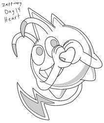 Zapp-uary (Day 14): Heart by Fishlover