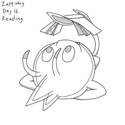 Zapp-uary (Day 16): Reading by Fishlover