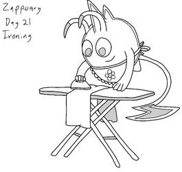 Zapp-uary (Day 21): Ironing by Fishlover