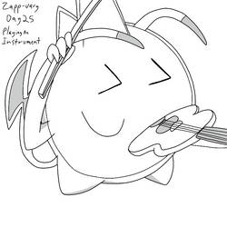 Zapp-uary (Day 25): Playing An Instrument by Fishlover