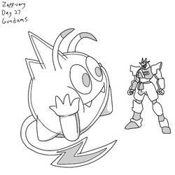 Zapp-uary (Day 27): Gundams by Fishlover