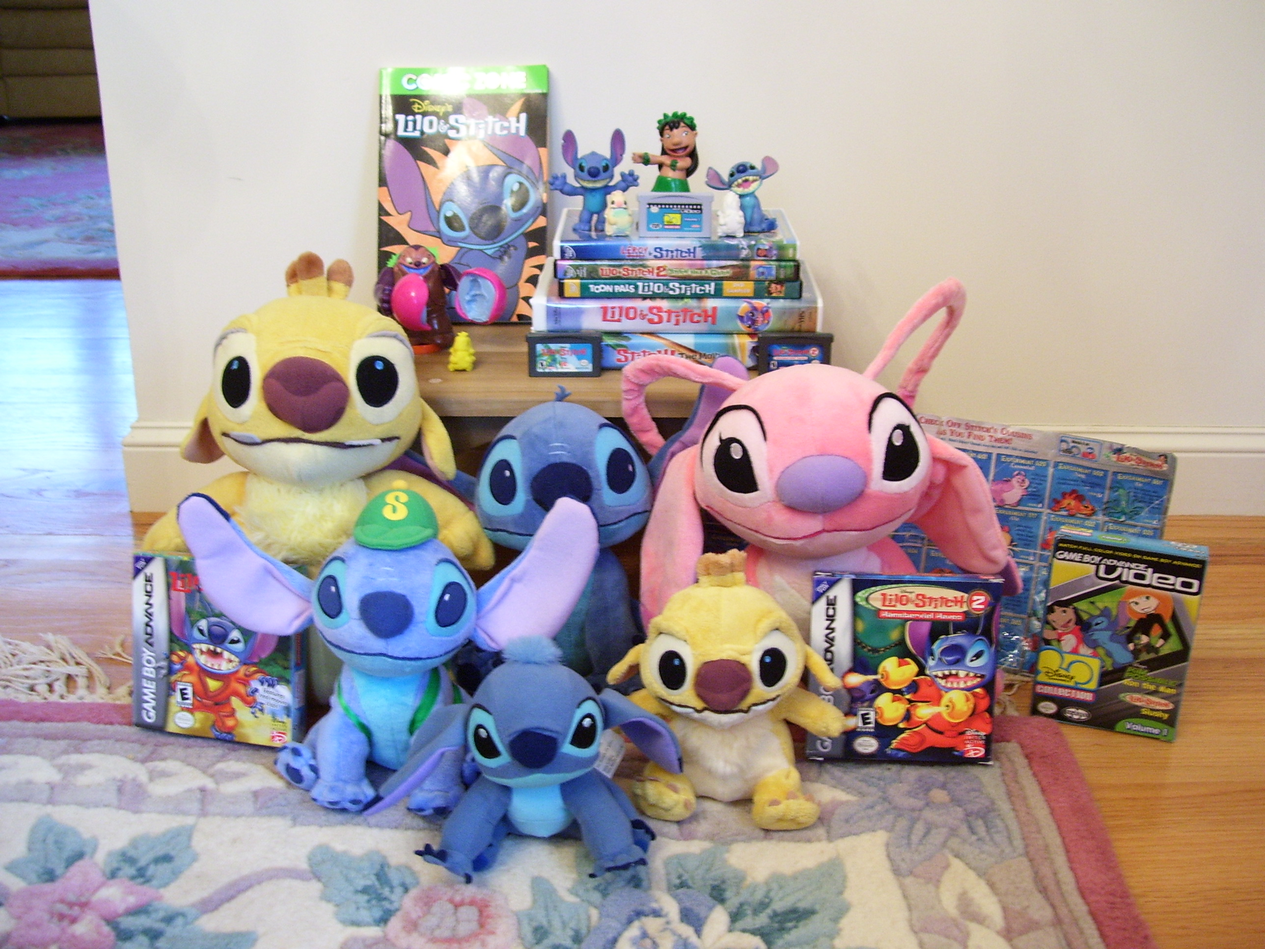 My Lilo and Stitch Collection by Fishlover on DeviantArt