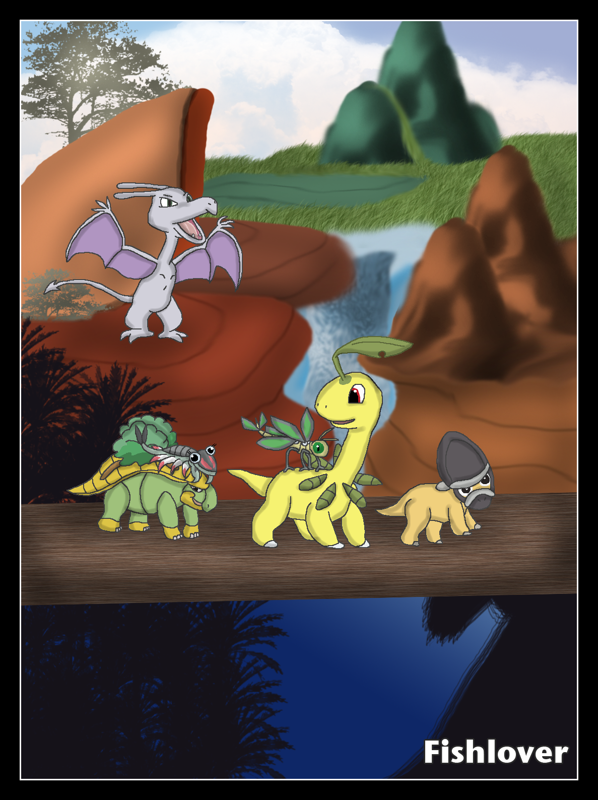 the pokemon before time by fishlover on deviantart