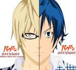 Bakuman:Takagi and Mashiro