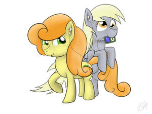 Carrot Top and Derpy