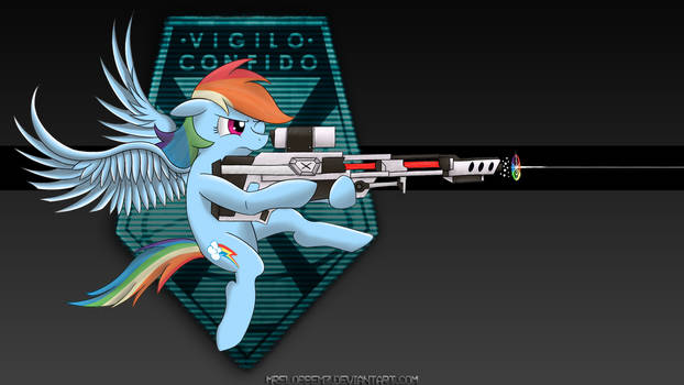 X-COM: Sniper Rainbow Dash