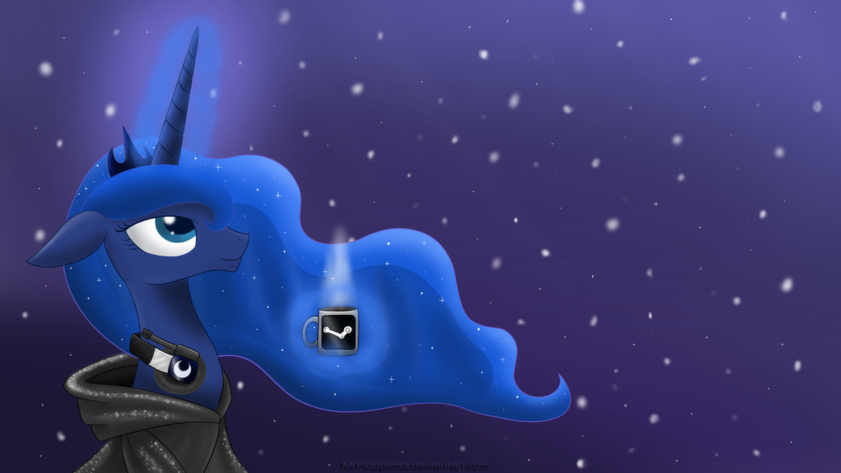 Winter Luna by MrFloppemz