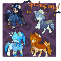 Halloween Set - Offer to Adopt CLOSED by gachapony