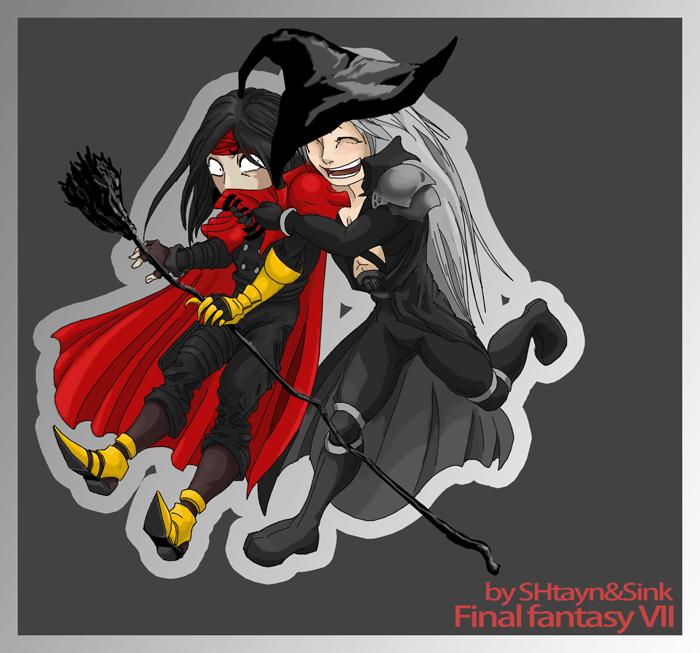 FFVII:Halloween by SINKandSHTAYN
