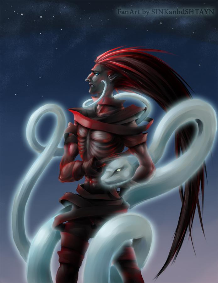 Kazeshini snd spirit snake by SINKandSHTAYN