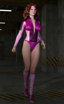 Violet Spike Test 2: Vicky 6