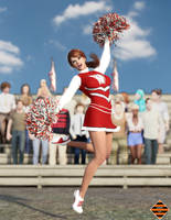 Candy Cheerleader 01 by Dangerguy01