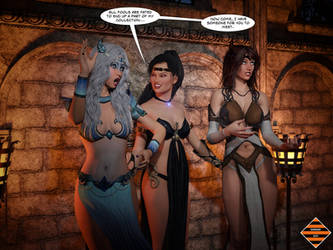 Statue Sorceress 02 - 3 of 4 by Dangerguy01