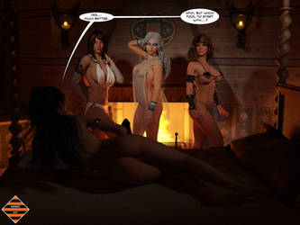 Statue Sorceress 02 - 4 of 4 by Dangerguy01