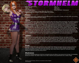 Stormhelm Character Profile by Dangerguy01