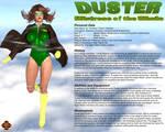 Duster Character Profile v2 by Dangerguy01